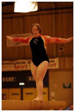 Special Olympics (Gymnastics).Sun 28-5-2006.Birmingham.Morning