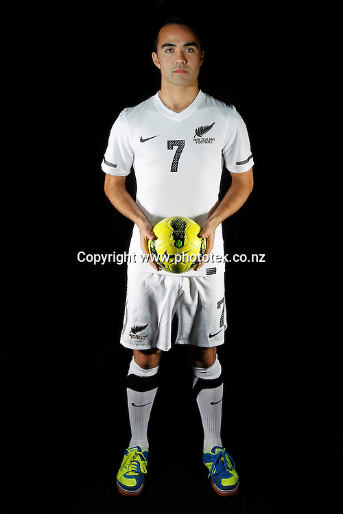 Marvin EAKINS. Futsal Photo Shoot, North Harbour Stadium, Albany, Wednesday 19th September 2012. Photo: Shane Wenzlick
