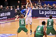 DESCRIZIONE : Milano Coppa Italia Final Eight 2014 Semifinale Banco di Sardegna Sassari Grissin Bon Reggio Emilia<br /> GIOCATORE : Drake Diener<br /> CATEGORIA : Tiro Three Points<br /> SQUADRA : Banco di Sardegna Sassari<br /> EVENTO : Beko Coppa Italia Final Eight 2014<br /> GARA : Banco di Sardegna Sassari Grissin Bon Reggio Emilia<br /> DATA : 08/02/2014<br /> SPORT : Pallacanestro<br /> AUTORE : Agenzia Ciamillo-Castoria/A.Scaroni<br /> Galleria : Lega Basket Final Eight Coppa Italia 2014<br /> Fotonotizia : Milano Coppa Italia Final Eight 2014 Semifinale Banco di Sardegna Sassari Grissin Bon Reggio Emilia<br /> Predefinita :
