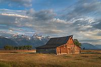 T.A. Moulton Barn on Mormon Row, Grand Teton National Park Wyoming