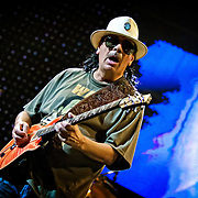 Santana live at the Marcus Amphitheater. Photo ©Jennifer Rondinelli Reilly. All rights reserved. No use without permission.