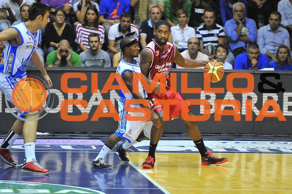 DESCRIZIONE : Campionato 2013/14 Dinamo Banco di Sardegna Sassari - Giorgio Tesi Group Pistoia<br /> GIOCATORE : Brad Wanamaker<br /> CATEGORIA : Palleggio<br /> SQUADRA : Giorgio Tesi Group Pistoia<br /> EVENTO : LegaBasket Serie A Beko 2013/2014<br /> GARA : Dinamo Banco di Sardegna Sassari - Giorgio Tesi Group Pistoia<br /> DATA : 27/10/2013<br /> SPORT : Pallacanestro <br /> AUTORE : Agenzia Ciamillo-Castoria / Luigi Canu<br /> Galleria : LegaBasket Serie A Beko 2013/2014<br /> Fotonotizia : Campionato 2013/14 Dinamo Banco di Sardegna Sassari - Giorgio Tesi Group Pistoia<br /> Predefinita :