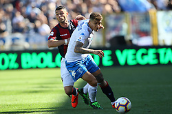 "Foto LaPresse/Filippo Rubin<br /> 27/04/2019 Bologna (Italia)<br /> Sport Calcio<br /> Bologna - Empoli - Campionato di calcio Serie A 2018/2019 - Stadio ""Renato Dall'Ara""<br /> Nella foto: GIOVANNI DI LORENZO (EMPOLI)<br /> <br /> Photo LaPresse/Filippo Rubin<br /> April 27, 2019 Bologna (Italy)<br /> Sport Soccer<br /> Bologna vs Empoli - Italian Football Championship League A 2017/2018 - ""Renato Dall'Ara"" Stadium <br /> In the pic: GIOVANNI DI LORENZO (EMPOLI)"