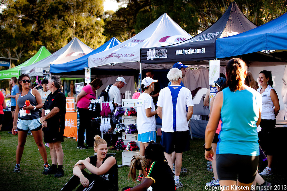 Start to Finish Brooks Sunset Series @ Princes Park
