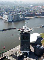 AMSTERDAM -  Amsterdam Tower met Eye filmmuseum    COPYRIGHT  KOEN SUYK