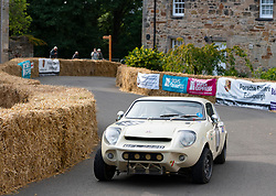Boness Revival hillclimb motorsport event in Boness, Scotland, UK. The 2019 Bo'ness Revival Classic and Hillclimb, Scotland's first purpose-built motorsport venue, it marked 60 years since double Formula 1 World Champion Jim Clark competed here.  It took place Saturday 31 August and Sunday 1 September 2019. 101 , David Smith, Marcos Mini Marcos