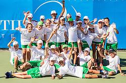 Ball Boys at ATP Challenger Tilia Slovenia Open 2016, on August 6, 2016 in Portoroz/Portorose, Slovenia. Photo by Vid Ponikvar / Sportida