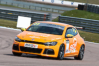#77 Mark SMITH  Infront Motorsport  Volkswagen Scirocco Milltek Sport Volkswagen Racing Cup at Rockingham, Corby, Northamptonshire, United Kingdom. April 30 2016. World Copyright Peter Taylor/PSP.