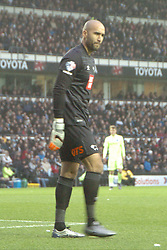 Lee Grant Goalkeeper Derb County, Derby County v Brighton &Hove Albion, IPro Stadium, Sky Bet Championship,  Saturday 12th December 2015