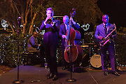 Jeremy Davenport and band perform in the New Orleans Botanical Garden at City Park; Magic in the Moonlight 2012