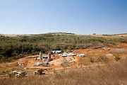 Uberlandia_MG, Brasil...Construcao de uma Pequena Usina Hidreletrica (PCH) em Uberlandia...The construction of a small hydroelectric plant in Uberlandia...Foto: BRUNO MAGALHAES / NITRO