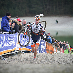 Nederlands Kampioenschap veldrijden Gasselte elite Twan van den Brand