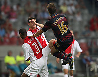 Photo: Maarten Straetemans.<br /> Arsenal v Ajax. LG Amsterdam Tournament. 04/08/2007.<br /> Mathieu Flamini (Arsenal)