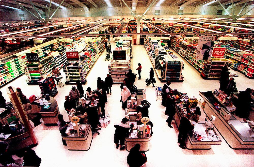 Supermarkets Asda Supermarket Sept 1999 Wembley park London