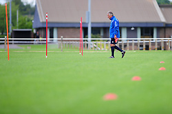 Bristol Rovers' manager, John Ward prepares for training - Photo mandatory by-line: Dougie Allward/JMP - Tel: Mobile: 07966 386802 24/06/2013 - SPORT - FOOTBALL - Bristol -  Bristol Rovers - Pre Season Training - Npower League Two