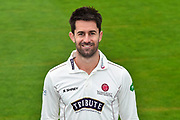 Head shot.  Tim Groenewald wearing the Somerset Specsavers County Championship kit at the media day at Somerset County Cricket Club at the Cooper Associates County Ground, Taunton, United Kingdom on 11 April 2018. Picture by Graham Hunt.