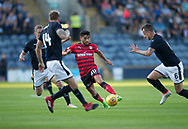 Dundee&rsquo;s Faissal El Bakhtaoui is surrounded by Raith&rsquo;s former Dees Scott Robertson. Iain Davidson and  Kyle Benedictus - Raith Rovers v Dundee, Betfred Cup at Starks Park, Kirkcaldy, Photo: David Young<br /> <br />  - &copy; David Young - www.davidyoungphoto.co.uk - email: davidyoungphoto@gmail.com