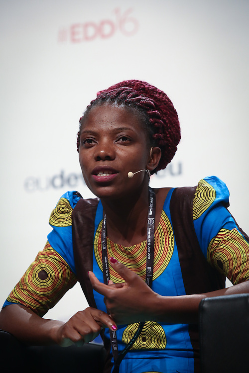 20160615 - Brussels , Belgium - 2016 June 15th - European Development Days - Climate and development - The water-energy-food nexus - Can it help us deliver the Sustainable Development Goals ? - Pilirani Khoza , Young Leader - Water-Energy-Food Nexus , Malawi © European Union