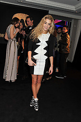 CHELSEA LEYLAND at the Warner Music Group Post Brit Awards Party in Association with Samsung held at The Savoy, London on 20th February 2013.