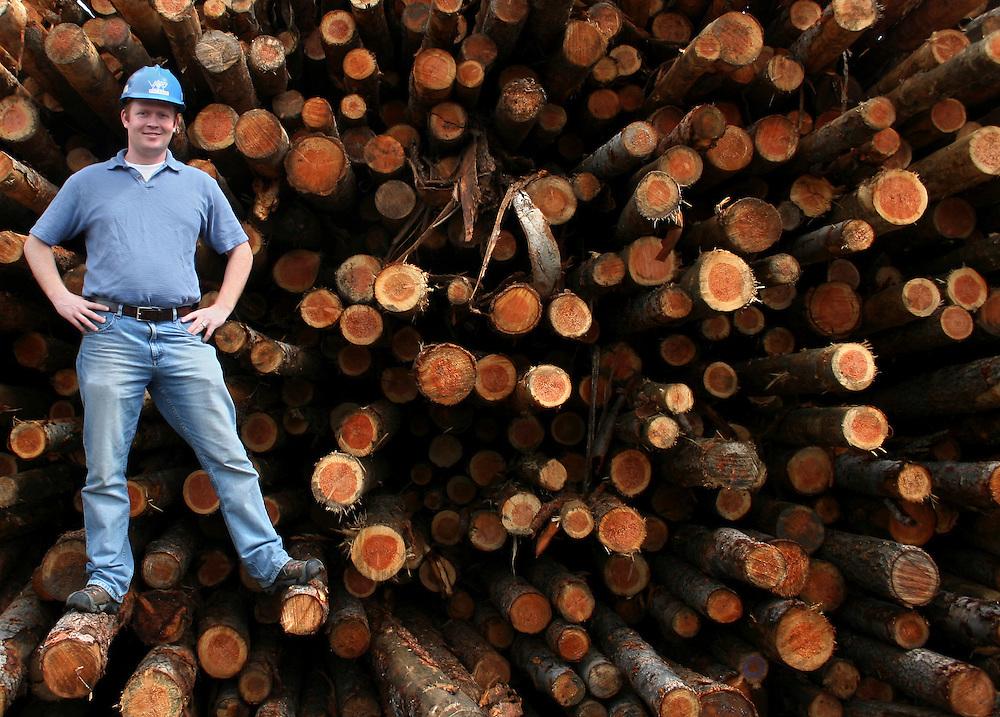 Russ Vaagen at the mill is Colville, Washington.