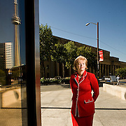 Portraits of Barbara Stymiest, Group Head of Strategy, Treasury, and Corporate Services at the Royal Bank of Canada (RBC).  Photographed in Toronto, Canada by Brian Smale, for Fortune Magazine's list of the world's most powerful women.