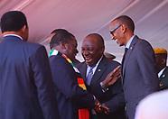 Zimbabwean President Emmerson Mnangagwa Inauguration - 26 Aug 2018