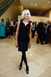 NOELLE RENO at a private view of Bryan Adam's photographs entitled 'Modern Muses' held at The National Portrait Gallery, London on 11th March 2008.<br />