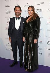 Jay Rutland and Tamara Ecclestone attending the Global Gift Gala held at The Corinthia Hotel in London.