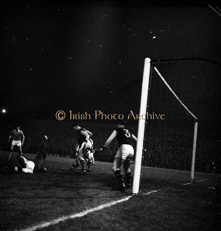 15/02/1963<br /> 02/15/1963<br /> 15 February 1963<br /> Soccer: Burnley v Manchester City at Dalymount Park, Dublin.