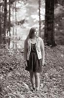Catherine Craig senior portrait session.  ©2014 Karen Bobotas Photographer