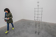 Mean 2016 - Antony Gormley, Fit, a new exhibition of work in the South Galleries of White Cube Bermondsey. The piece is divided into 15 discrete chambers to create a series of dramatic physiological encounters in the form of a labyrinth.