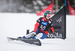 Schoeffmann Sabine during the FIS snowboarding world cup race in Rogla (SI / SLO) | GS on January 20, 2018, in Jasna Ski slope, Rogla, Slovenia. Photo by Urban Meglic / Sportida