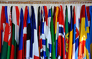 Varese,  ITALY. 2012 FISA European Championships, Lake Varese Regatta Course. ..The European Nations Flags, Hanging in the Protocol Tent...{TIME  {DOW}  15/09/2012.....[Mandatory Credit Peter Spurrier:  Intersport Images]  ..2012 European Rowing Championships ..Rowing, European,  2012 010857.jpg....