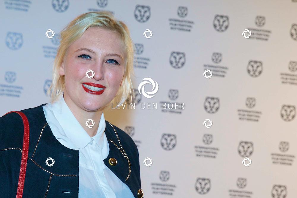 ROTTERDAM - In Theater De Goede Doelen is de 44ste International Film Festival Rotterdam geopend. Diversen genodigden en internationale sterren waren hierbij aanwezig. Met hier op de foto Anna Hermanns. FOTO LEVIN DEN BOER - PERSFOTO.NU