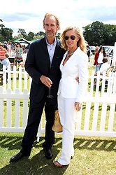 MIKE & ANGIE RUTHERFORD at the 2008 Veuve Clicquot Gold Cup polo final at Cowdray Park Polo Club, Midhurst, West Sussex on 20th July 2008.<br /> <br /> NON EXCLUSIVE - WORLD RIGHTS