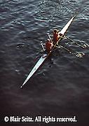 Rowing, Skull, Susquehanna River. Harrisburg, PA