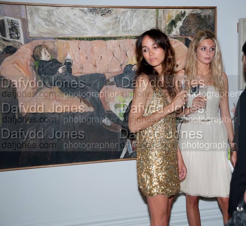 NATHALIE SWANSON; TAMZIN EGERTON, Royal Academy Summer Exhibition 2009 preview party. royal academy of arts. Piccadilly. London. 3 June 2009.