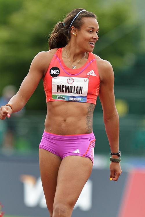 2012 USA Track & Field Olympic Trials: womens heptathlon, McMillan
