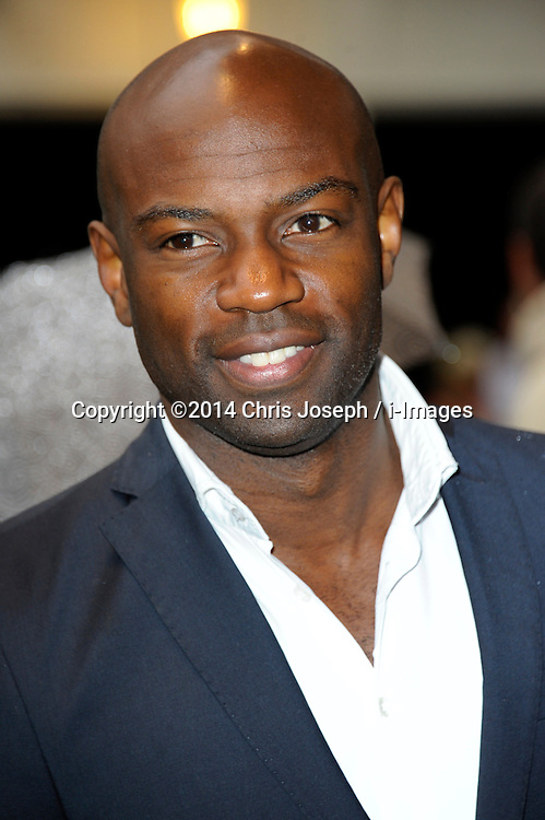 Image ©Licensed to i-Images Picture Agency. 08/07/2014. London, United Kingdom. David Gyasi during the press night for 'The Curious Incident Of The Dog In The Night-Time' at Gielgud Theatre. Picture by Chris Joseph / i-Images