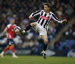 WEST BROMWICH, ENGLAND - Saturday, December 15, 2007: West Bromwich Albion's two-goal match-winner Zoltan Gera in action against Charlton Athletic during the League Championship match at the Hawthorns. (Photo by David Rawcliffe/Propaganda)