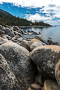Scenic View of Lake Tahoe