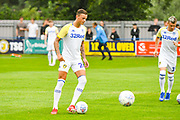 Leeds United Ben White (26) warming up during the Pre-Season Friendly match between Tadcaster Albion and Leeds United at i2i Stadium, Tadcaster, United Kingdom on 17 July 2019.