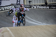 #572 (BRETHAUER Luis) GER at Round 2 of the 2019 UCI BMX Supercross World Cup in Manchester, Great Britain