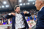 Gianmarco Pozzecco<br /> Banco di Sardegna Dinamo Sassari - Umana Reyer Venezia<br /> Finale Zurich Connect Supercoppa LBA 2019<br /> Bari, 22/09/2019<br /> Foto L.Canu / Ciamillo-Castoria