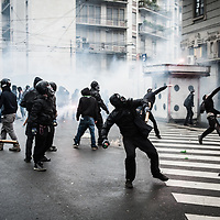 No Expo Riot in Milan