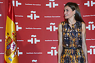072716 Queen Letizia attends a Working session with the Directors of Centers of Instituto Cervantes