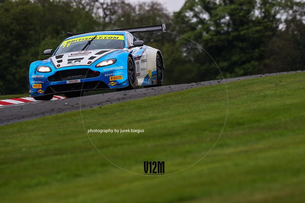 TF Sport | Aston Martin Vantage GT3 | Mark Farmer | Jon Barnes | British GT Championship | Oulton Park | 17 April 2017 | Photo: Jurek Biegus