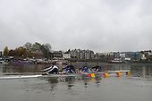 20081105  Fours Head, Tideway Scullers Training Session