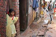 INDE<br /> Bidonville de Mumbai.