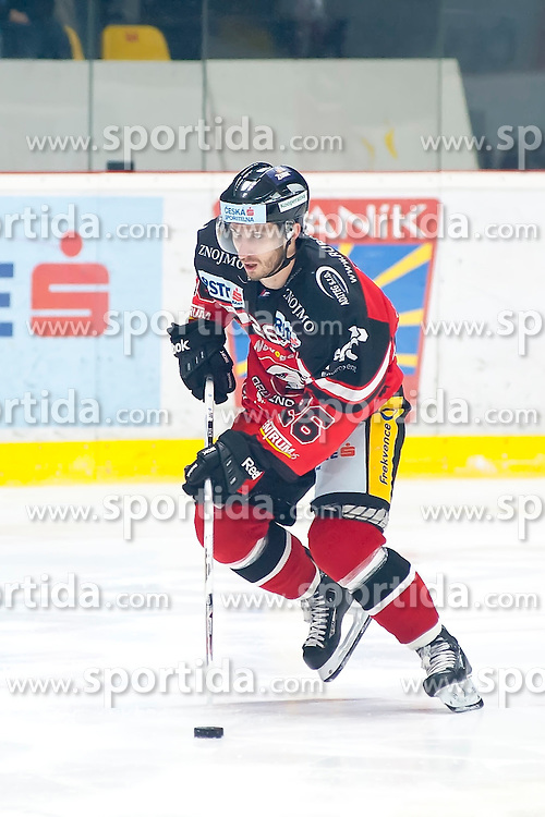 18.12.2015, Ice Rink, Znojmo, CZE, EBEL, HC Orli Znojmo vs Moser Medical Graz 99ers, 32. Runde, im Bild Lubomir Stach (HC Orli Znojmo) // during the Erste Bank Icehockey League 32nd round match between HC Orli Znojmo and Moser Medical Graz 99ers at the Ice Rink in Znojmo, Czech Republic on 2015/12/18. EXPA Pictures © 2015, PhotoCredit: EXPA/ Rostislav Pfeffer